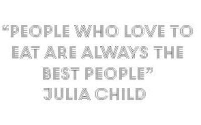 People who love to eat Quote