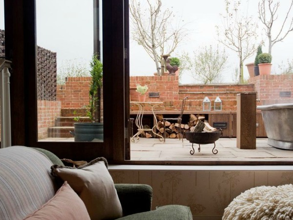 Walled Garden Room Terrace